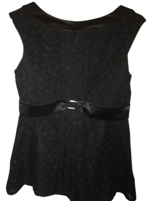 Preload https://item5.tradesy.com/images/nanette-lepore-black-polka-dotted-finely-detailed-night-out-top-size-8-m-39754-0-0.jpg?width=400&height=650