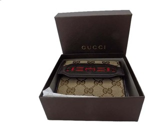 Gucci GUCCI 295352 WOMEN/MEN'SGG INTERLOCKING G HORSEBIT WEB LINING