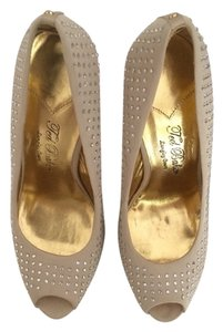 Ted Baker Nude Crystal Pumps