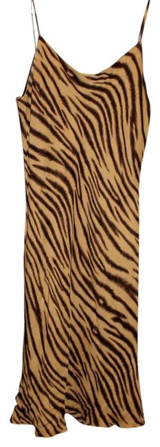 Preload https://item1.tradesy.com/images/jones-new-york-tanbrown-animal-print-above-knee-short-casual-dress-size-10-m-397720-0-0.jpg?width=400&height=650