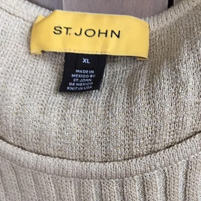 St. John Top Tan/gold