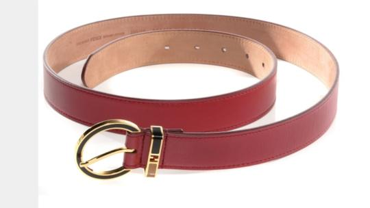 Fendi Red Fendi Belt