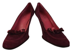 Coach Dark Purple Pumps