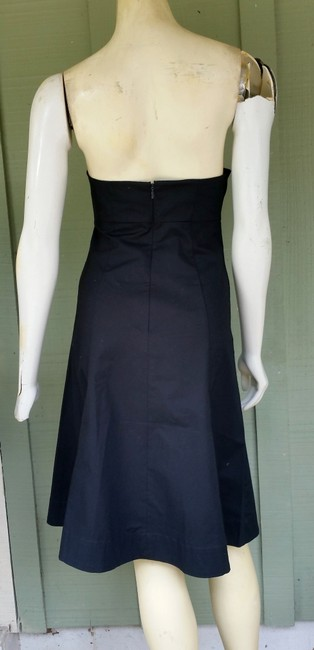 Gap short dress Black Stretch Strapless Sundress Cotton on Tradesy