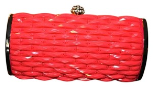 Expressions Coral with Rhinestone Clutch