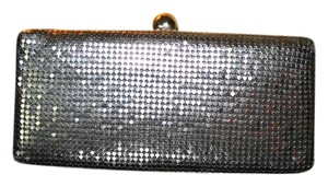 Alexia Crawford Silver Sequins & beading Clutch