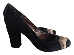 Missoni for Target Black with beige Pumps