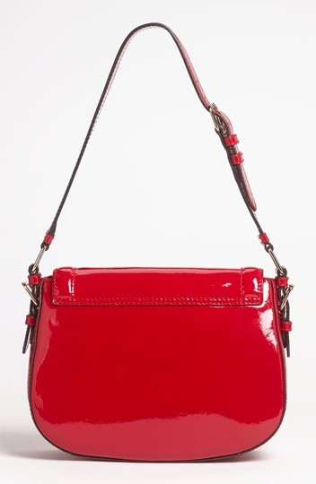Kate Spade New Patent Leather Red Shoulder Bag