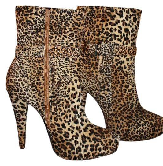 Enigma Leopard Boots