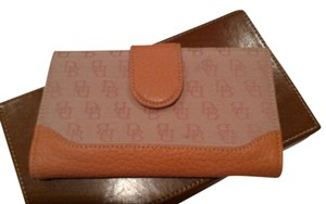Dooney & Bourke Dooney & Bourke Wallet peach color