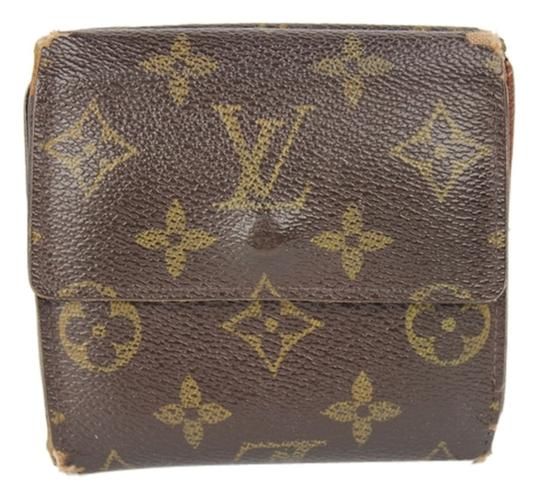 Louis Vuitton Louis Vuitton Wallet Tri-Fold Monogram Snap LVWLM2