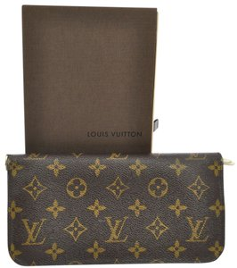 Louis Vuitton AUTH LOUIS VUITTON PORTEFEUILLES ANSORITTO WALLET PURSE MONOGRAM M66563