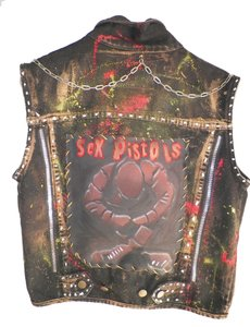 Punk Rock Sex Pistols Vest