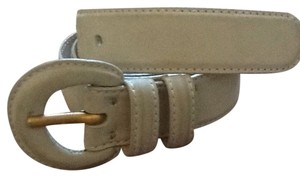 Donna Karan Donna Karan Gray Leather Belt