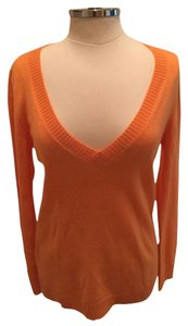 J.Crew V-neck Tunic Cashmere Sweater