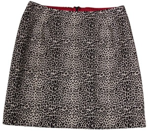 Bliss Mini Skirt Leopard