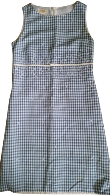 Talbots Checked Sleeveless Dress
