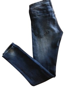 H&M Denim Featured Skinny Jeans-Distressed