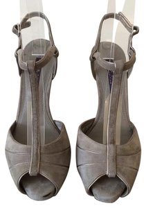 Ralph Lauren Collection Gray Pumps