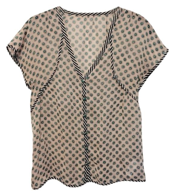 Juicy Couture Top Nude Print
