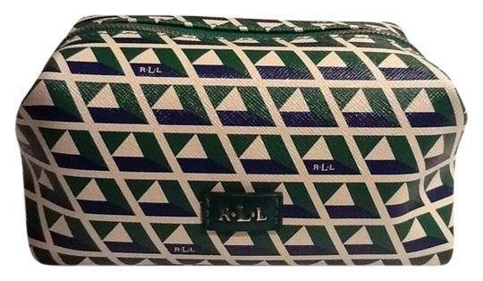 Preload https://item5.tradesy.com/images/ralph-lauren-green-gray-and-white-this-is-line-cosmetic-bag-3982669-0-0.jpg?width=440&height=440