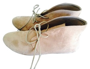 ANNA Footwear Taupe Suede Boots