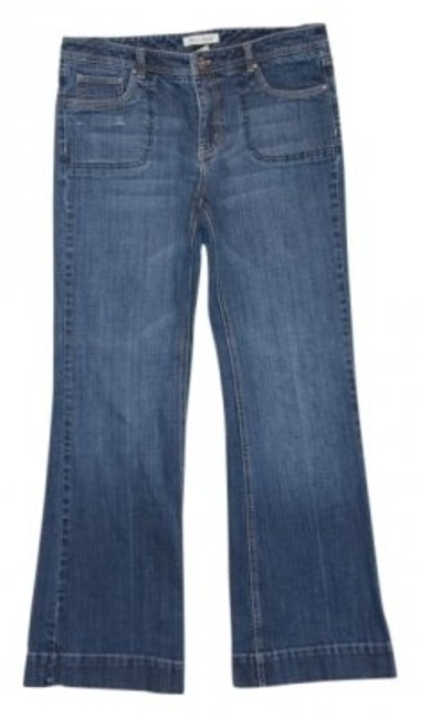 White House | Black Market Flare Leg Jeans-Medium Wash
