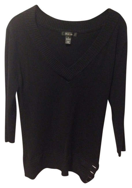 Style & Co Tunic Sexy V Neck Sweater
