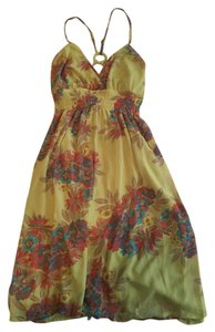 Aryeh short dress Green Summer Work on Tradesy