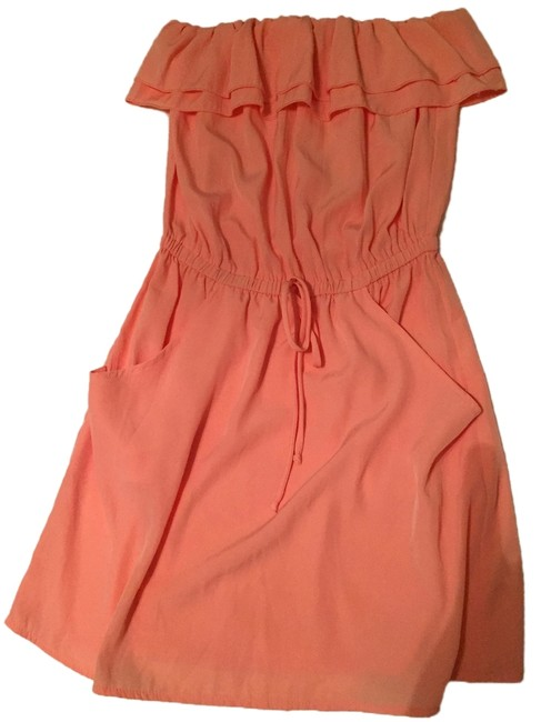 Item - Peach Boutique Summer Strapless By Nwot Mid-length Cocktail Dress Size 4 (S)