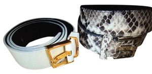 J. Mendel J.Mendel leather belts