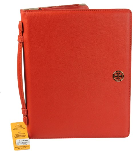 "Tory Burch * Tory Burch ""Robinson"" E-Tablet Case w/ Handle - WildBerry"