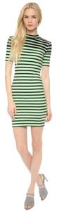 T by Alexander Wang short dress Mint Green and Black on Tradesy
