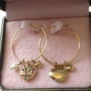 Juicy Couture Juicy Couture Hoop Earrings