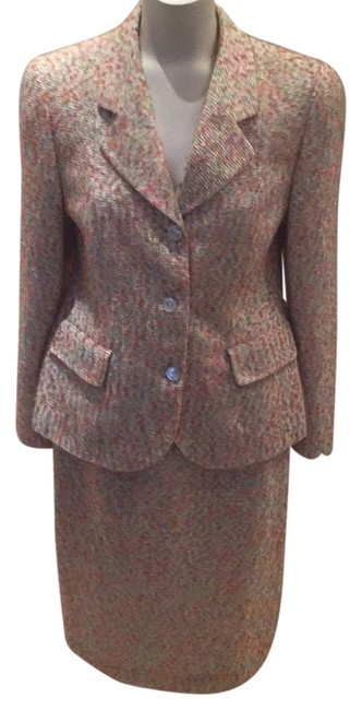 Item - Multi Color Amazing 2 Piece Women's Jacket and Usa Skirt Suit Size 10 (M)