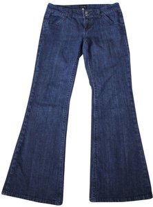 Vigoss Denim Trouser Business Trouser/Wide Leg Jeans-Dark Rinse