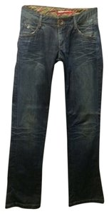 Miss Sixty Straight Leg Jeans-Distressed