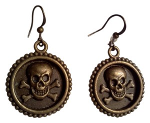 Other New never worn, hook style skull and crossbone earrings made by Me / Wendy