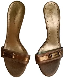 BCBGeneration Black, they are Gold Sandals