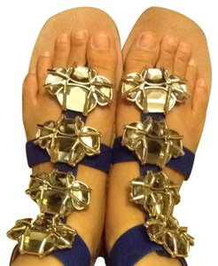Jeffrey Campbell Blue Sandals