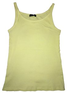 Max Mara Lemon Summer Basic Top Yellow