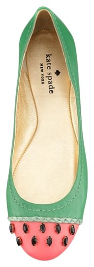 Preload https://item1.tradesy.com/images/kate-spade-pink-jade-watermelon-napa-leather-flats-size-us-6-regular-m-b-3985510-0-1.jpg?width=440&height=440