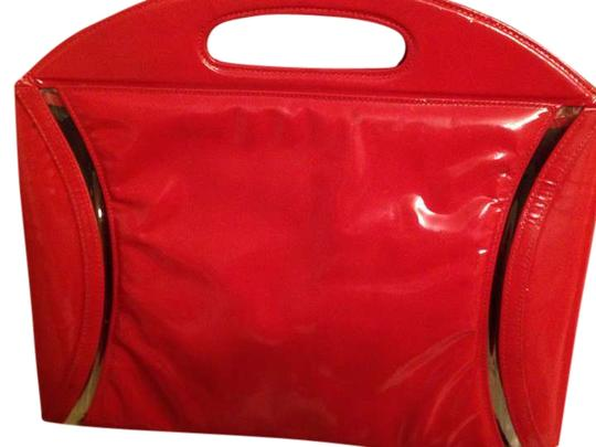Preload https://item1.tradesy.com/images/charles-jourdan-hot-red-orange-patent-leather-shoulder-bag-398560-0-0.jpg?width=440&height=440