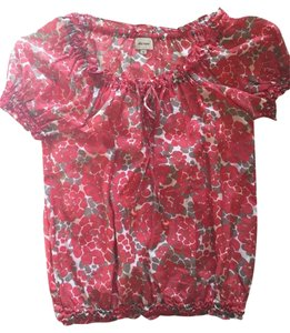 Ella Moss Top Red