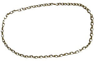 Gold-toned chain link necklace 30