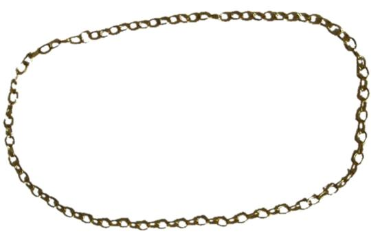Other Gold-toned chain link necklace 30