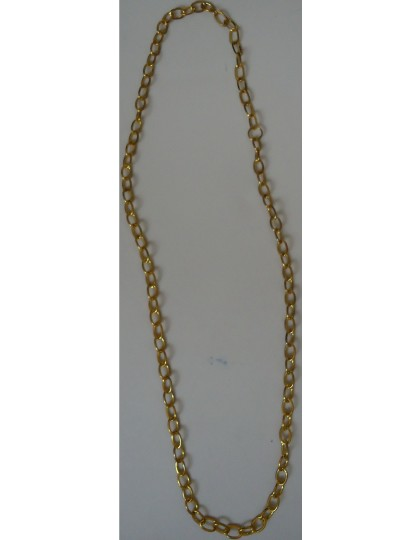 """Other Gold-toned chain link necklace 30"""" long"""