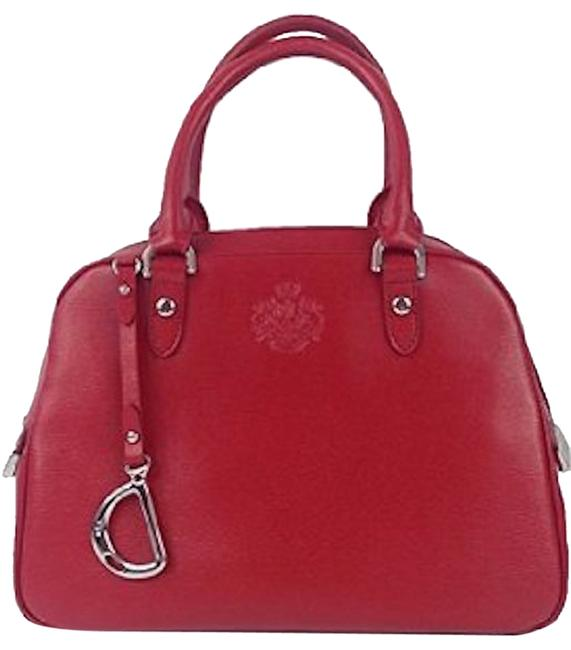 Item - Sloan Street Dome Red Leather Satchel