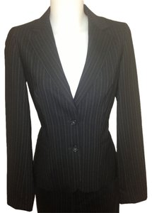 Club Monaco Pinstripe Wool Blend Suit Jacket