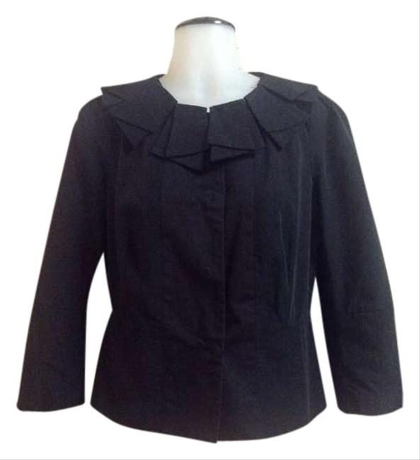 Preload https://img-static.tradesy.com/item/398652/anthropologie-black-sz6-by-elevenses-blazer-size-6-s-0-0-650-650.jpg